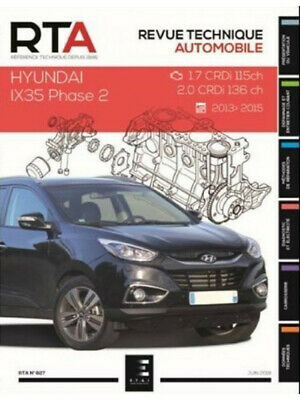 Livre REVUE TECHNIQUE HYUNDAI IX35 BREAK 5P Phase 2 (2013-2015) - RTA 827