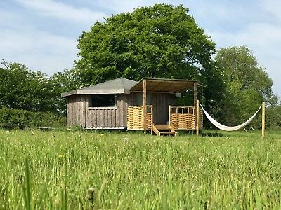 Yurt/Cabin camping holiday in Devon MAY - Dog Friendly