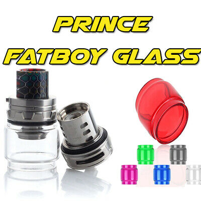 Smok Prince Bubble Glass | Tfv12 Prince Tank | Fatboy Extension Tube | Uk