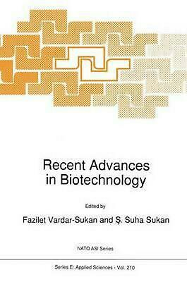 Recent Advances in Biotechnology (English) Paperback Book Free Shipping!