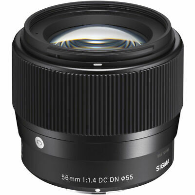 Sigma 56mm f/1.4 DC DN Contemporary Lens for Sony E mount