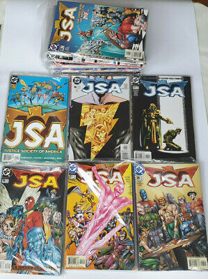 JSA #1 to 87 DC Comics Lot Justice Society Of America NM