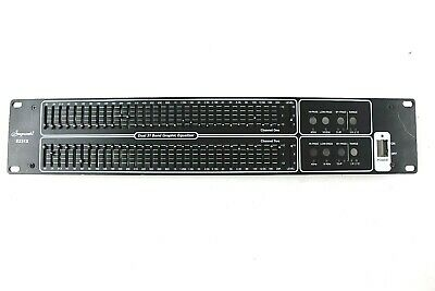 Stageworks E231X Rack Mount Dual 31 Band Graphic Equalizer Faceplate Replacement