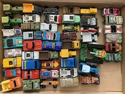 Large Bundle Of Micro Machines, Including Chrome And Sparkle, Deluxe, 48 Total