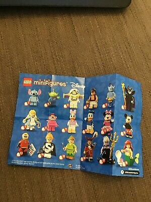 Lego Series 12 Minifigures Instruction Leaflet Sheet checklist flyer
