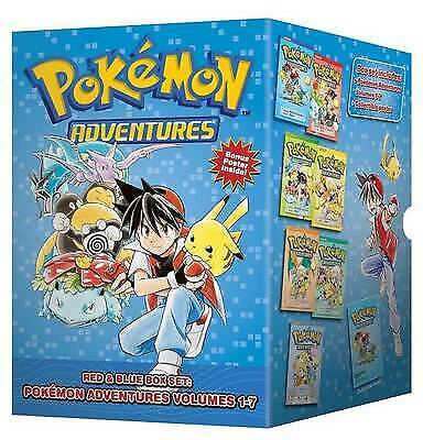 Pokemon Adventures Red & Blue Box Set, Kusaka, Hidenori