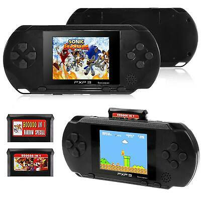 New PXP3 Portable Video Games 16Bit Handheld Game Console 150+ Retro Megadrive