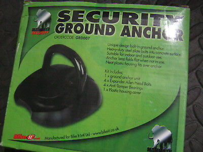 Mammoth Flip Up Ground Anchor Motorcycle Scooter Quad Bike Security Lock Point