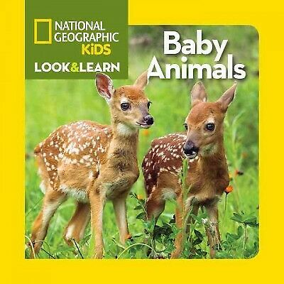 Look and Learn: Baby Animals, National Geographic Kids