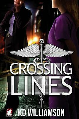 Crossing Lines by KD Williamson (English) Paperback Book Free Shipping!