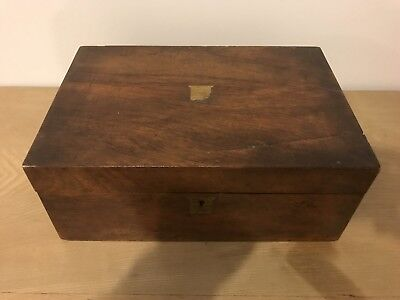 Antique Vintage Wooden Box