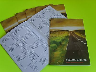 Generic Service History Book NEW Blank Commercial Vehicles Cars Vans Campers MPV