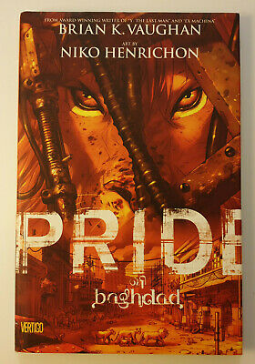 Pride Of Baghdad - Brian K. Vaughan - Hardcover - Graphic Novel