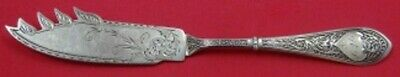 """Raphael by Gorham Sterling Silver Cheese Knife with Pick Bright Cut 8"""" Original"""