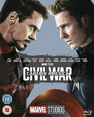 Captain America: Civil War  [Blu-ray] [2016], New, DVD, FREE & Fast Delivery