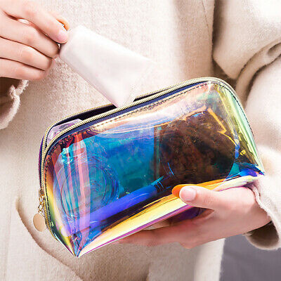 Portable Make Up Women Casual Case TPU Pouch Cosmetic Bag Waterproof Transparent