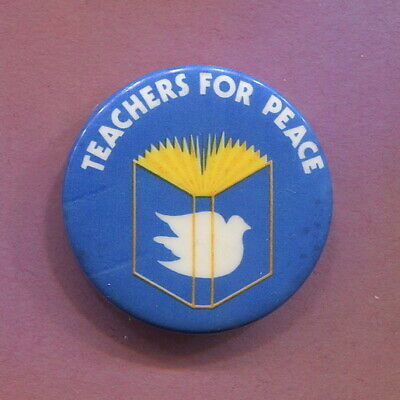 Mid 1960s Anti Vietnam War  Teachers Committee for Peace in VN protest cause Pin