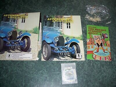 USPS 1984 Automobiles Stamp Collecting Kit - Album, Stamps and Mounts - Opened