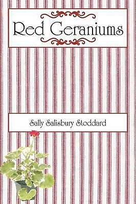 Red Geraniums by Sally Salisbury Stoddard (English) Paperback Book Free Shipping