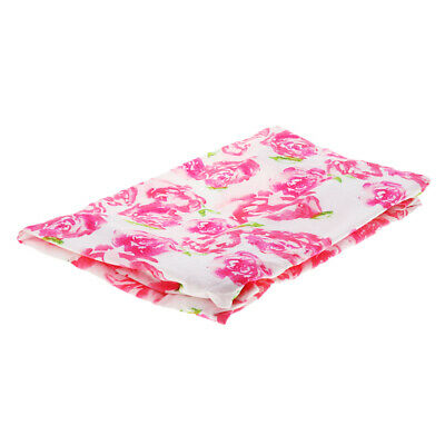 Baby Diaper Pad Cover Breathable Sheet for Standard Changing Table Pads Rose