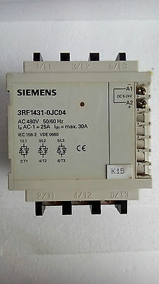 3Rf1431-0Jc04 -Semiconductor Contactor 3-Phases,50/60Hz 480V, 25A  / Dc 5 To 24V