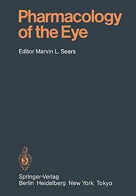 Pharmacology of the Eye (English) Paperback Book Free Shipping!