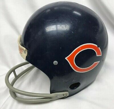 Vintage 70s 80s Rawlings Chicago Bears Football Helmet Large NFL