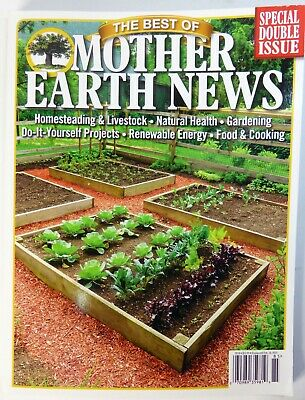 The Best Of Mother Earth News Special Double Issue 2018 - FREE SHIP