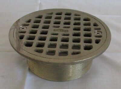 SMITH Industrial Floor Drain Strainer Round Stainless Steel Marked 4325 AC