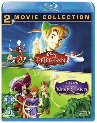 Peter Pan / Peter Pan Return To Never Land (2 Blu-Ray) [Edizione: Paesi ...