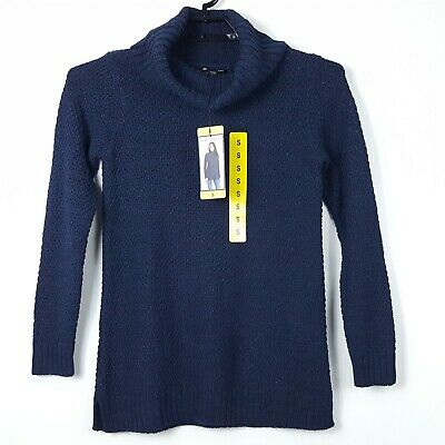 NEW VARIETY WOMEN/'S HILARY RADLEY FAUX LAYERED SWEATER TEXTURED SWEATER