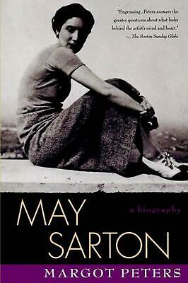 May Sarton: Biography: A Biography by Margot Peters (English) Paperback Book Fre