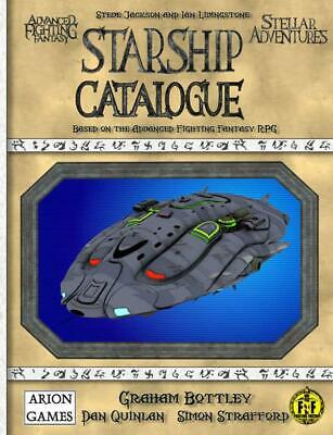 Arion Games Advanced Fighting Fantasy Starship Catalogue SC MINT