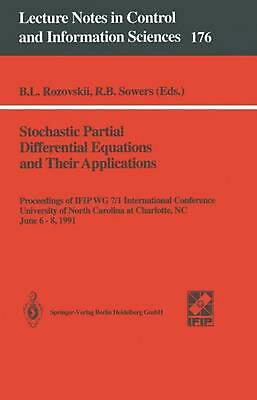 Stochastic Partial Differential Equations and Their Applications: Proceedings of