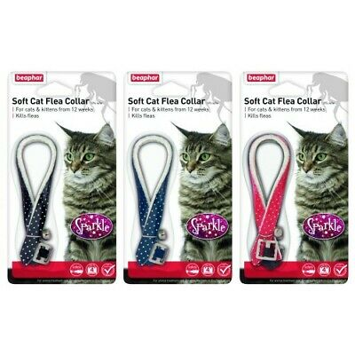 Beaphar Soft Cat Flea Collar Sparkle