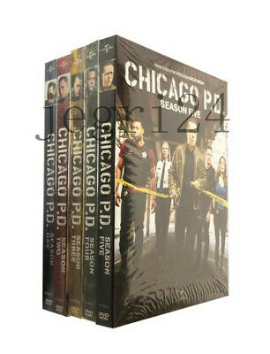 New Chicago P.D. PD: Complete Series Seasons 1-5 (DVD, 27-Disc Set) 1 2 3 4 5