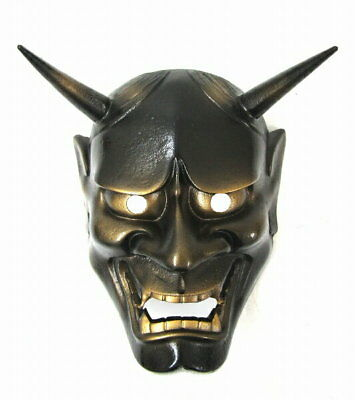 Hannya Iron Noh Mask Interior Brand new With box japan For wall hanging