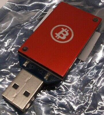 USB Block Erupter ASIC BITCOIN MINER 333 MH/s BE rev 3.00