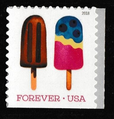 US 5293 Frozen Treats Chocolate Pop forever single (1 stamp) MNH 2018