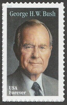 US 5393 George H W Bush forever single (1 stamp) MNH 2019