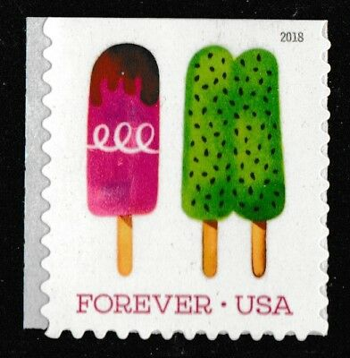 US 5287 Frozen Treats Twin Green Pop forever single (1 stamp) MNH 2018