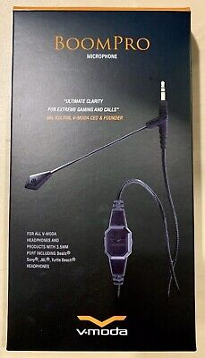 V-MODA BoomPro Gaming, VoIP Headset Mic - Works with Any Device with 3.5mm Port