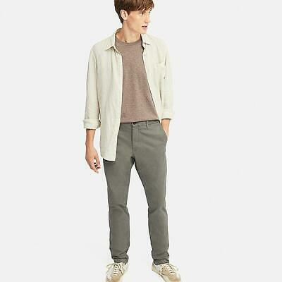 """TED BAKER/""""CHAADE/"""" BEIGE// TAN CLASSIC FIT COTTON CHINO TROUSERS BNWT 32 R RRP £95"""