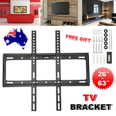 TV Bracket Wall Mount Slimline Tilting LCD 26 32 40 42 46 47 50 52 55 63 inch AU