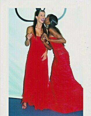 Naomi CAMPBELL MODE Photo Presse Originale DEFILE VALENTINO 2000