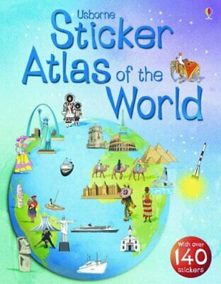 Usborne Sticker Atlas of the World (Usborne Sticker Atlases),S.R. Turnbull, Fio