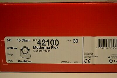 moderma flex closed pouch15-55mm ref 42100 1x30