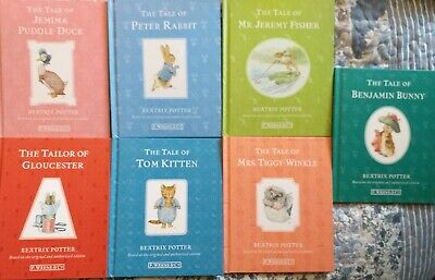 Beatrix Potter Bundle of 7 Books bedtime story stories perfect gift boy girl