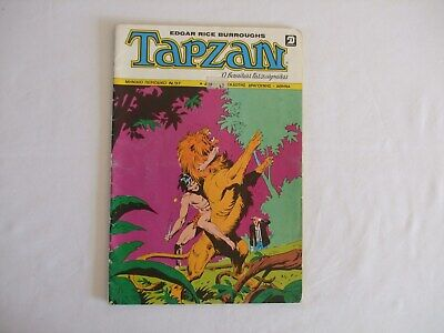 Greek Language Edgar Rice Burroughs Tarzan Comic No 97