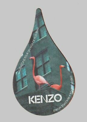 Carte publicitaire - advertising card -  Kenzo